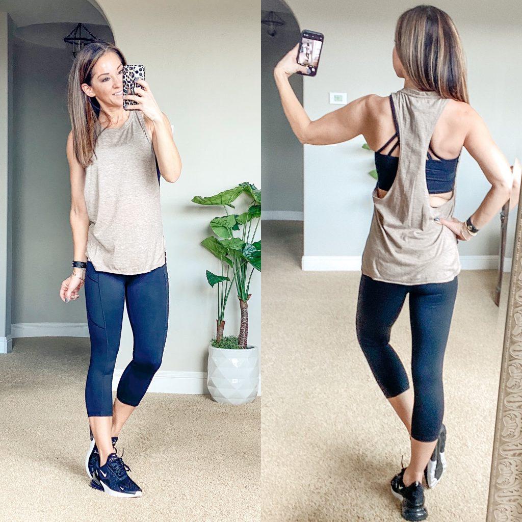Amazon Activewear, gym people leggings, best workout tops, sports bra