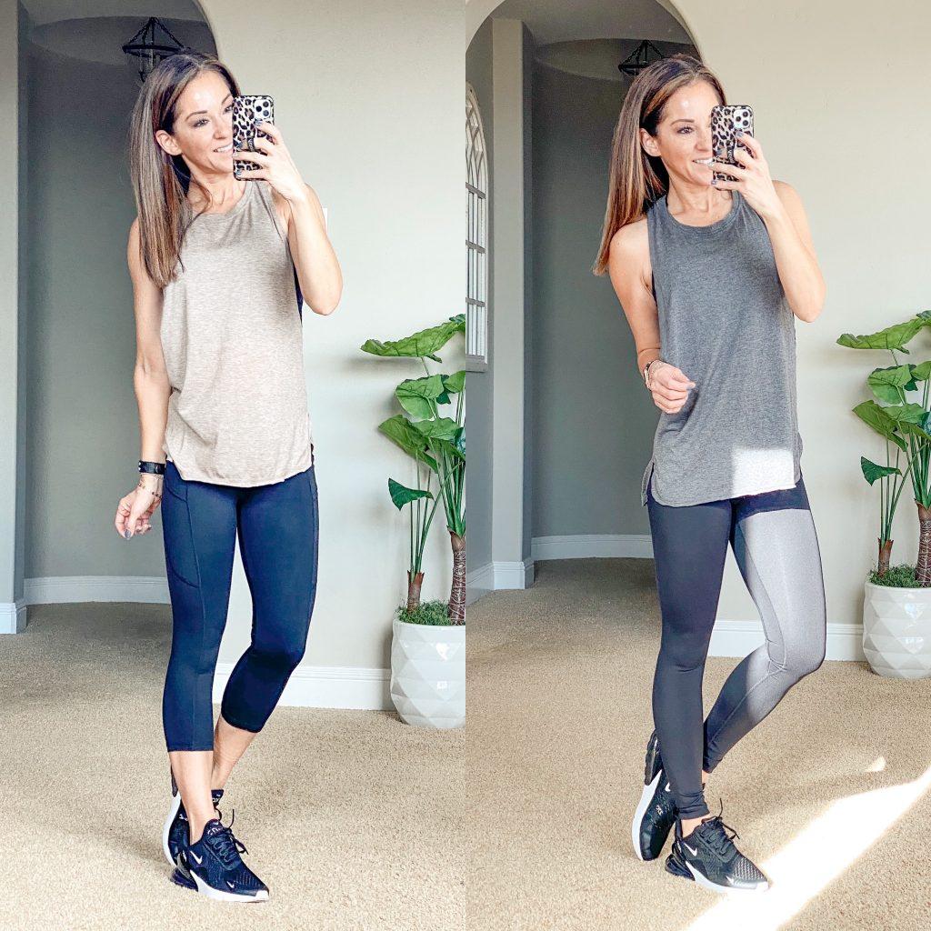 Amazon Activewear, crz yoga leggings, gym people leggings, best workout tops