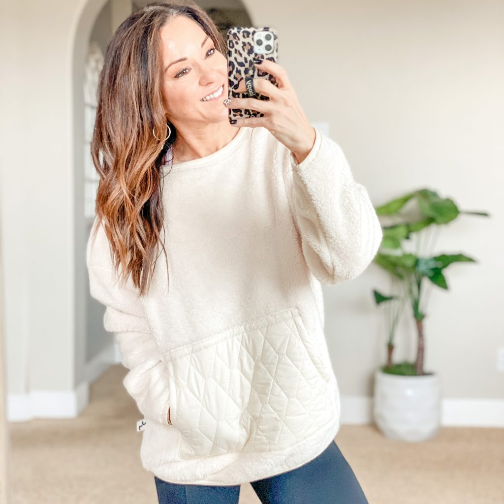 cozy sherpa pullover affordable cozy