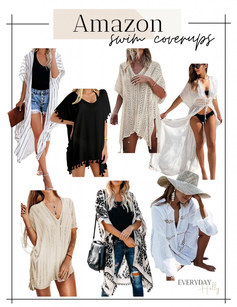 swimsuit coverups from Amazon // resort wear // vacation style