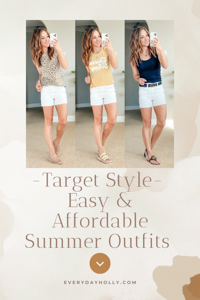 Target style easy outfits casual and affordable summer fashion