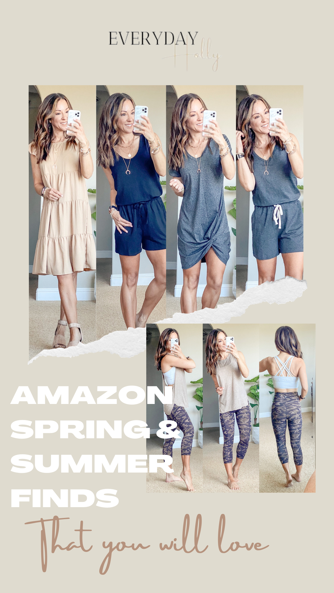 Spring & Summer outfits from Amazon petite style over 40