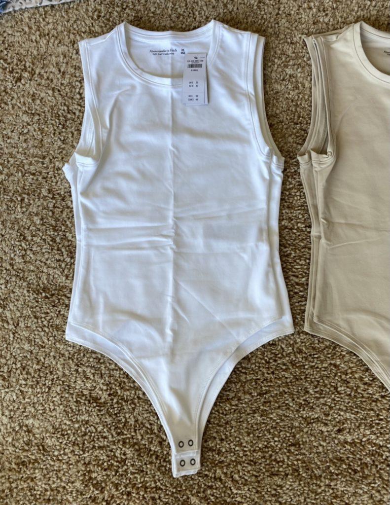 Abercrombie bodysuit sizing comparison