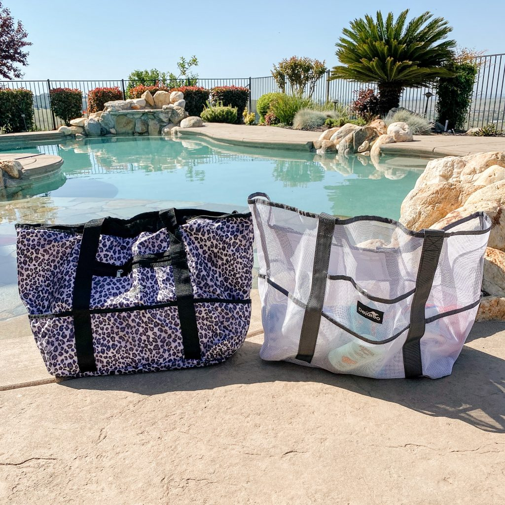 The perfect totes for the beach, lake, pool, vacation