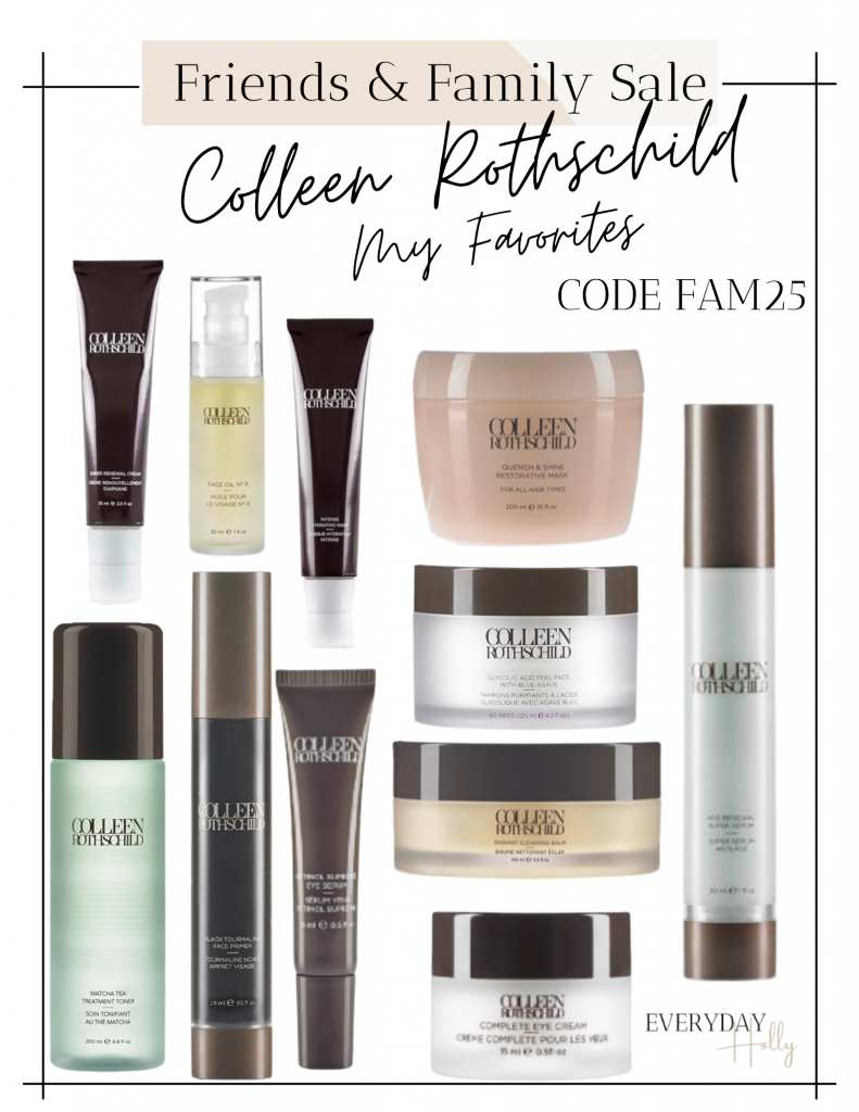 The Best Mature Skincare Products - What I Use Everyday from Colleen Rothschild