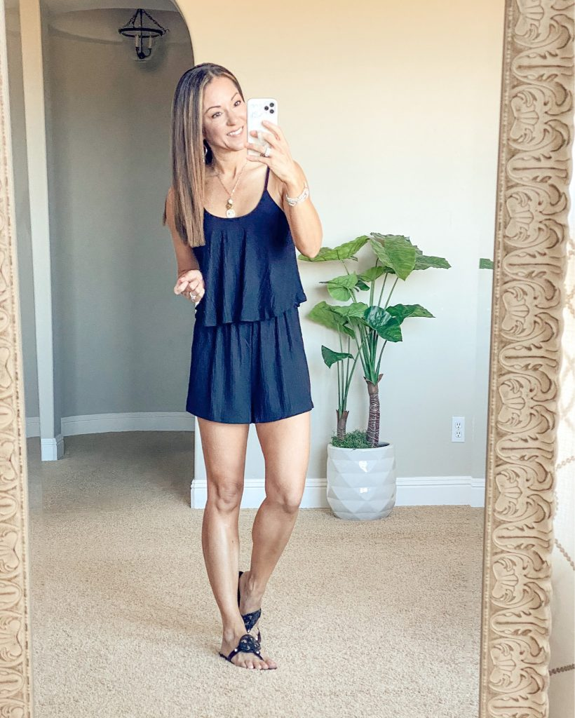 Summer romper - easy outfit - casual summer style