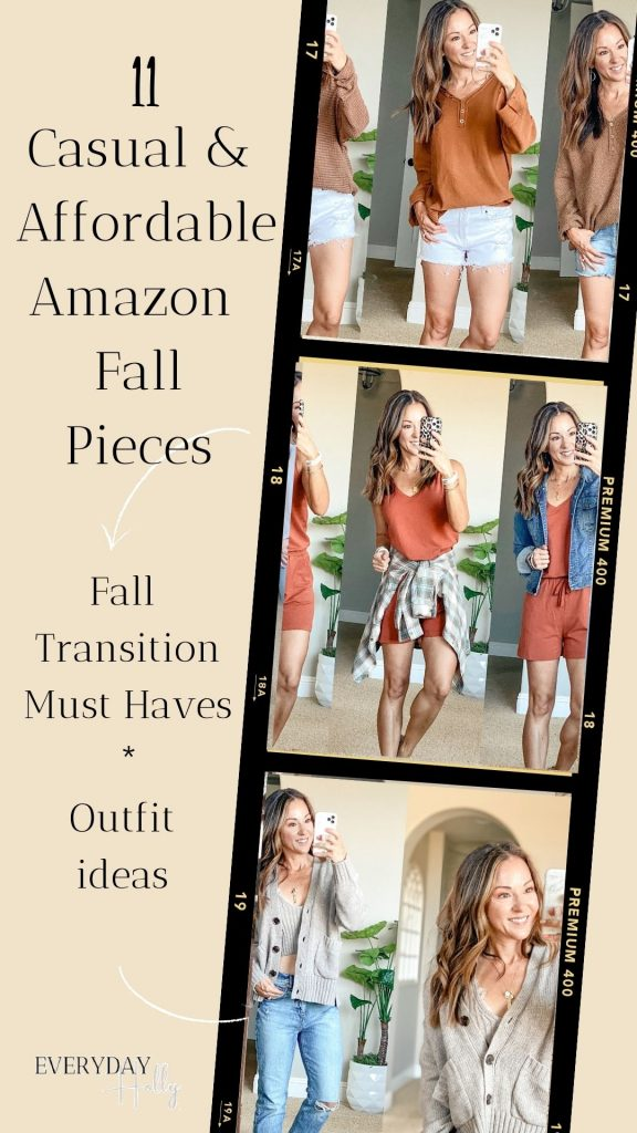 11 Casual and Affordable Fall Transition Pieces from Amazon