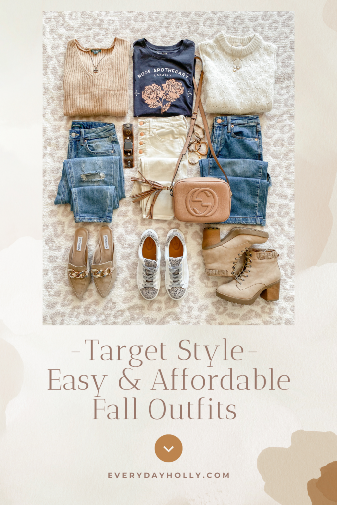 Target casual Fall outfit ideas, sweaters, jeans, skinny jeans, petite fall style