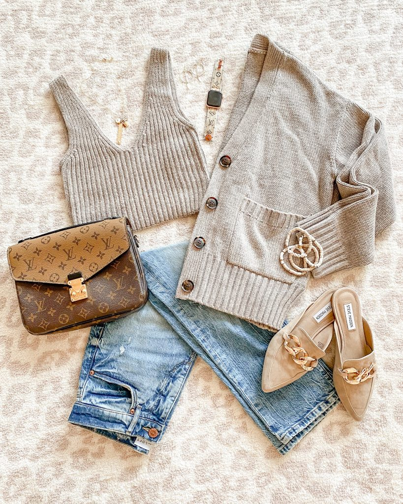 sweater set from amazon - affordable on trend 2021 fall style