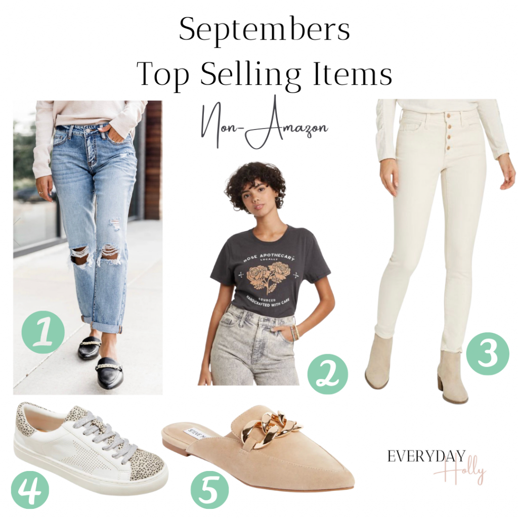 fall fashion top must haves - best sellers - boyfriend jeans