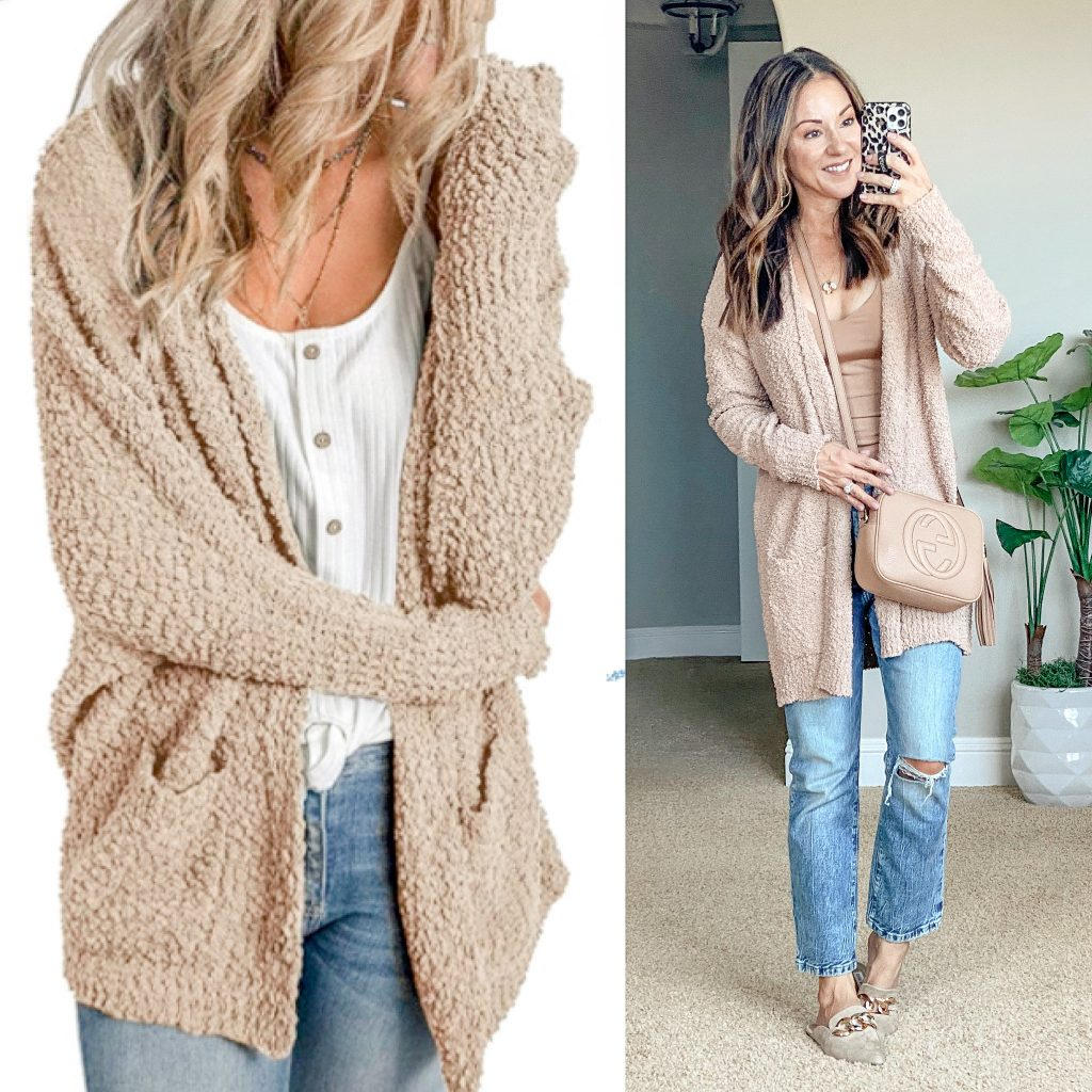 cozy cardigan || fall style