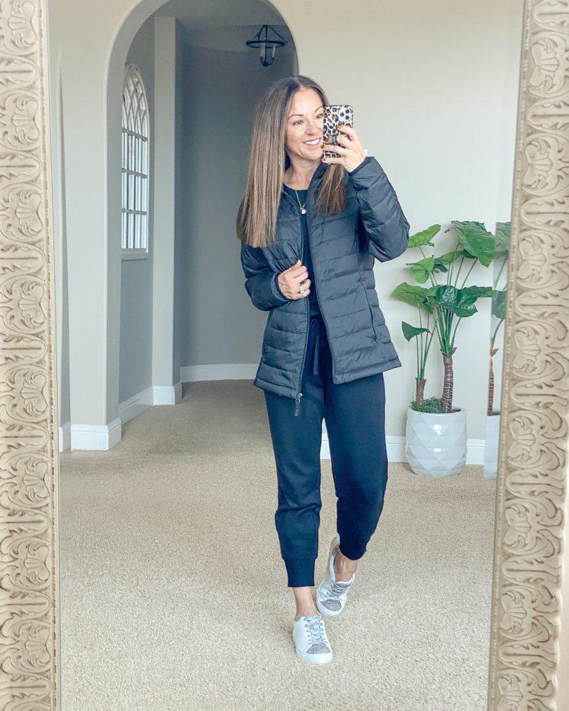 Lightweight, Packable, Water-resistant Puffer Jacket - no hood